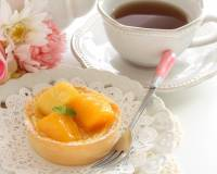 Mango Mini Tart with Custard Recipe