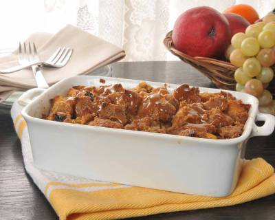 The Bread Pudding Recipe with Baileys Irish Cream