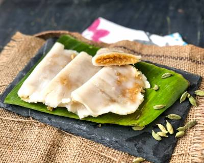 Ella Ada Recipe-Steamed Rice Pancakes With Coconut & Jaggery Filling