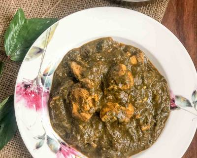 Gongura Chicken Curry Recipe - Andhra Style Gongura Chicken