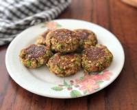 Broccoli Peanut And Oats Tikki Recipe