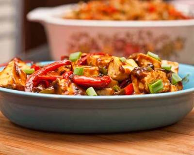 Chilli Paneer Recipe -Indo Chinese