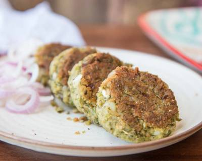 Hara Bhara Kebab Recipe with Millets