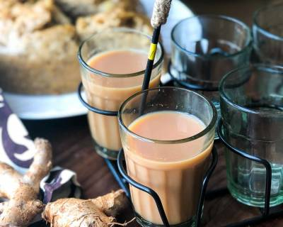 Adrak Chai Recipe - Indian Style Ginger Tea