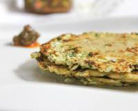 Cabbage Paneer Parathas Recipe