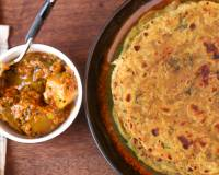 Mooli Paratha Recipe - Indian Flat Bread with Radish