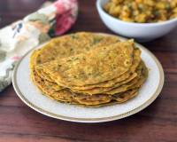 Healthy Carrot Methi & Mooli Thepla Recipe