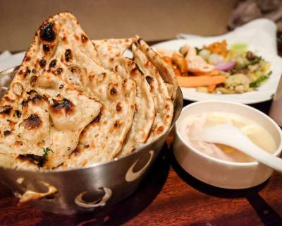 Whole Wheat Naan Recipe