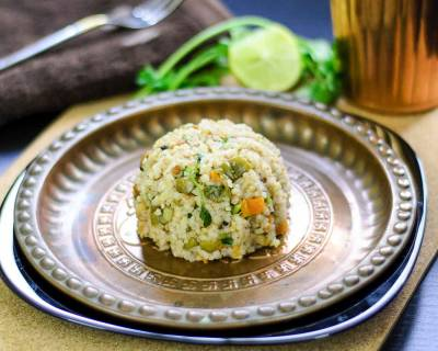 Broken Barley Upma Recipe