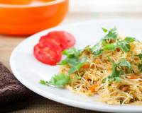 Egg Idiyappam Recipe - Rice Vermicelli Upma with Scrambled Eggs