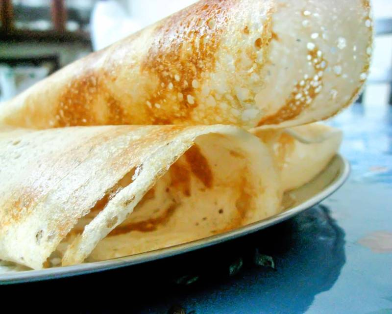 Ghee Roast Dosa Recipe - Crispy Paper Dosa Recipe