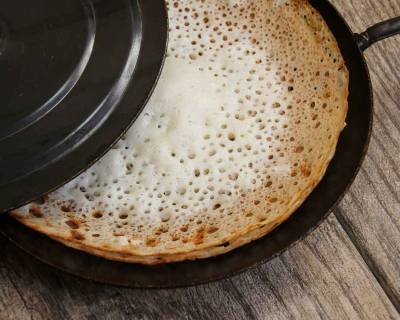 Kerala Style Appam Recipe (Without Yeast)