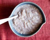 Ragi Oatmeal Kanji Recipe - Healthy Diabetic Porridge Recipe