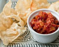 Sweet and Spicy Tomato Chutney Recipe With Garlic