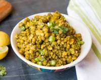 Jain Style Whole Green Moong Dal Sabzi Recipe - Gujarati Vaghareli Mag