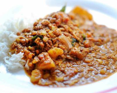 Hurali Saaru Recipe (Healthy Horse Gram and Coconut Curry)