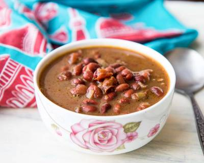 Punjabi Rajma Masala Recipe - Rajma Chawal/Spiced Red Kidney Beans Curry