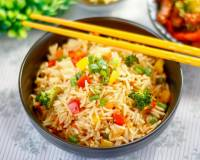 Broccoli Capsicum Pulao Recipe
