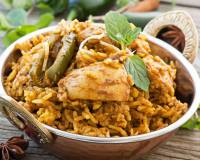 Chicken Biryani With Coconut Milk with Basmati Rice