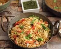Kadai Beans And Carrot Pulao Recipe