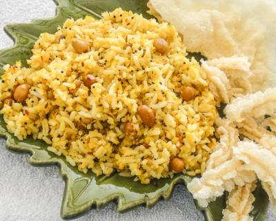 Nellikai Chitranna Recipe - Gooseberry-Amla Rice Recipe