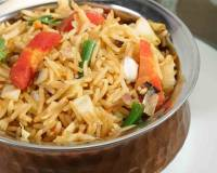 Spicy Paneer Pulao With Vegetables