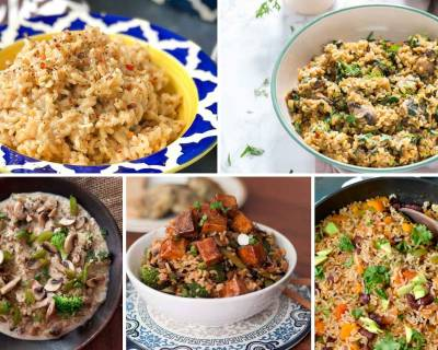 15 Brown Rice Recipes That Will Add More Fiber To Your Diet