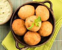 Aloo Vada Recipe - Batata Vada (Deep Fried Potato Patties)