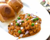 Homemade Pav Bhaji Recipe - Delicious Mumbai Style Street Food