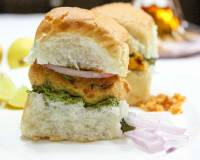 Homemade Vada Pav Recipe With Aloo Vada