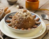 Atte Ka Halwa Recipe - Whole Wheat Flour Halwa with Khoya