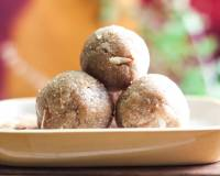 Churma Ladoo Recipe - Atta/Whole Wheat Ladoo