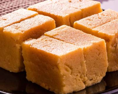 Homemade Soft Mysore Pak Recipe