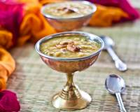 Paruppu Payasam Recipe - Stewed Dal Coconut Milk Payasam