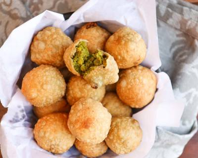 Corn Matar Kachori Recipe