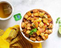 Delhi Style Fruit Chaat Recipe -Homemade Kulle Chaat Of North India