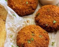 Oats and Rajma Cutlet Recipe