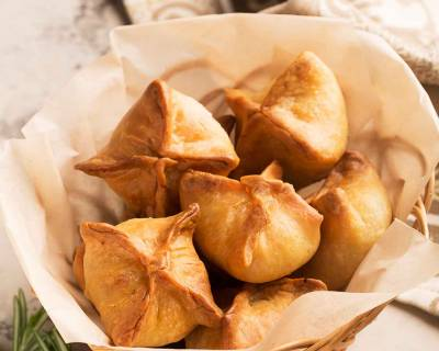 Vegetarian Chinese Samosa Recipe