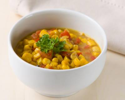 Chatpatti Makai Masala Recipe - Spicy Steamed Corn Masala