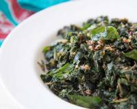 Keerai Masiyal Recipe (Stir Fried Green with Mustard and Curry Leaves)