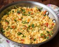 Paneer Bhurji Recipe With Capsicum - Spicy Cottage Cheese Crumble