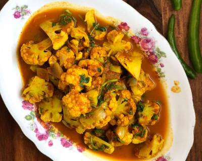 Quick Cauliflower Sabzi Recipe - Phool Gobi Sabzi Recipe