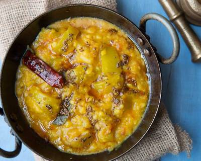 Lauki Chana Dal Recipe - Bottle Gourd Cooked In Lentil Curry