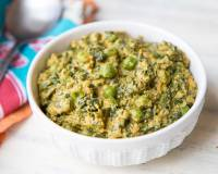 Healthy Methi Matar Malai (No Cream) Recipe