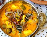 Paneer Raw Mango Curry Recipe