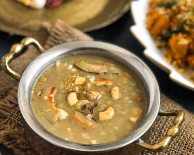 Chemba Arisi Thengai Paal Payasam Recipe- Red Rice Payasam