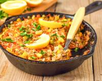Smoked Vegetarian Spanish Rice Recipe