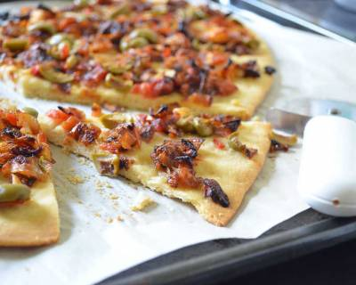 Pissaladiere Recipe - Provencal Onion Tart Recipe