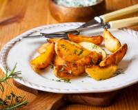 Baked Potato Wedges Recipe
