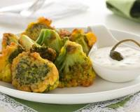 Cheese Broccoli Fritter Recipe - Pan Fried Broccoli Pakora